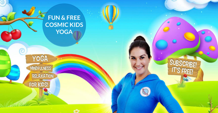 Fun Free Cosmic Kids Yoga Videos On Youtube Healthy Family Expo